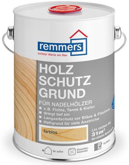 REMMERS Aidol Holzschutz Grund 2,5L- Impregnace s preventivní ochranou proti zmodrání a hnilobě