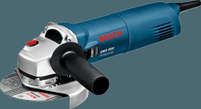 100 Cub Cadet Bosch GWS 1000 úhlová bruska