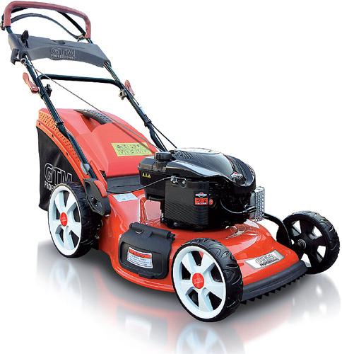 GTM 500 SP1 SC H travní sekačka s benzinovým motorem a pojezdem