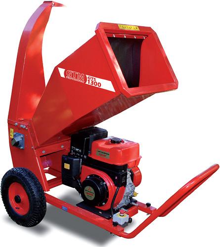 GTM GTS 1300M drtič dřeva s benzinovým motorem