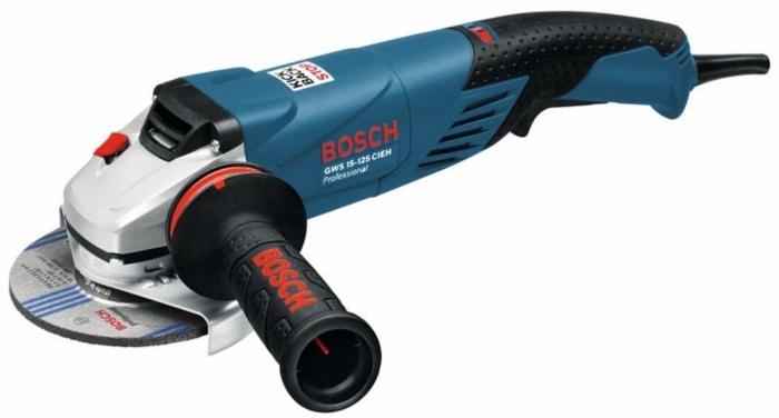 BOSCH GWS 15-125 CIEH úhlová bruska 125mm / 1500W s regulací