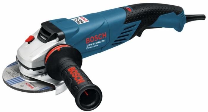 BOSCH GWS 15-125 CITH úhlová bruska 125mm / 1500W s regulací