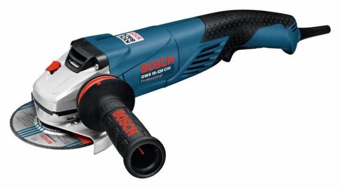 BOSCH GWS 15-125 CIH úhlová bruska 125mm / 1500W