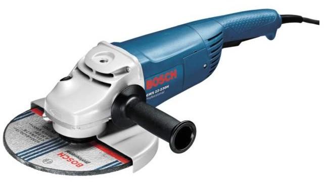Bosch GWS 22-230 JH + GWS 850 C Set úhlových brusek