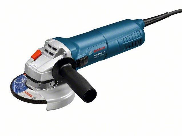 BOSCH GWS 9-115 Professional úhlová bruska 115mm / 900W