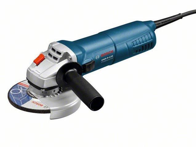 BOSCH GWS 9-125 Professional úhlová bruska 125mm / 900W