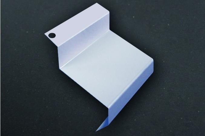 EUROPROFIL Spojovací krytka DIFEXX H-14 - kovová krytka pro překrytí spojů profilu H14 PVC pro balko