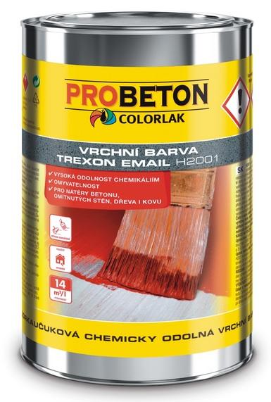 COLORLAK TREXON EMAIL H 2001 / 9L chlorkaučuková chemicky odolná vrchní barva