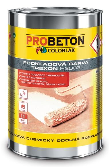 COLORLAK TREXON H 2003 / 3,5L chlorkaučuková chemicky odolná podkladová barva