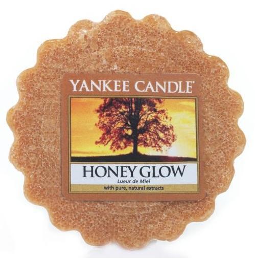 YANKEE CANDLE Honey Glow VONNÝ VOSK DO AROMALAMPY Sladká záře