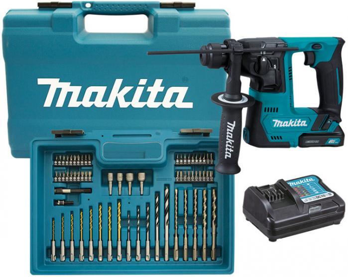 Makita HR140DWYE1 Aku vrtací kladivo s příslušenstvím Li-ion 12V/1,5Ah CXT
