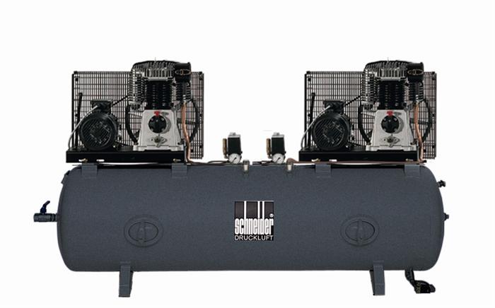 SCHNEIDER UNM-STH 650/650-10-500 TD UniMaster STH Tandem stacionární kompresor