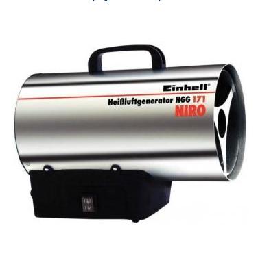 HGG 300 Niro plynové topidlo 30 kW Einhell