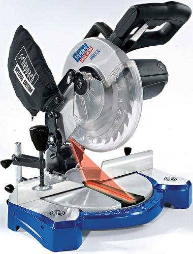 SCHEPPACH HM 80 L pokosová pila s laserem