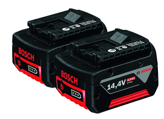 Bosch 2x GBA 14,4V 4,0Ah Akumulátor
