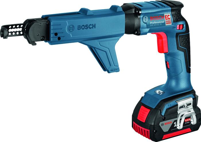 Bosch GSR 18 V-EC TE + MA 55 Sádrokartonářský šroubovák + zásobník