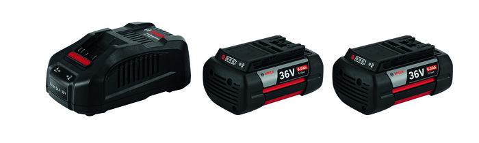 Bosch 2x GBA 36V 6,0Ah + GAL 3680 CV Akumulátor + nabíječka