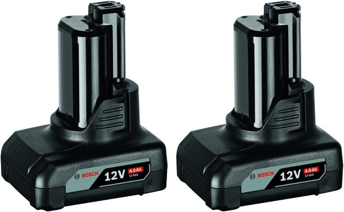 Bosch 2x GBA 12V 4,0Ah Akumulátor