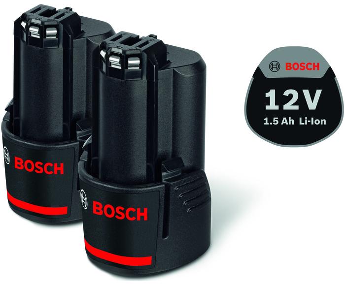 Bosch 2x GBA 12V 1,5Ah Akumulátor