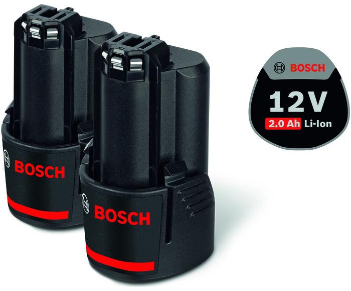 Bosch 2x GBA 12V 2,0Ah Akumulátor