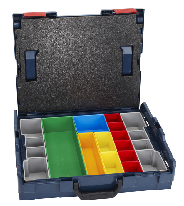 Bosch L-Boxx 102 set 13 pcs L-Boxx 102 a 13ks pořadačů