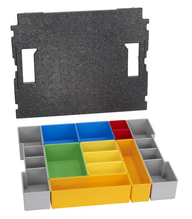 Bosch L-Boxx 102 inset box set 12 pcs 12dílná sada pořadačů s víkem pro L-Boxx 102