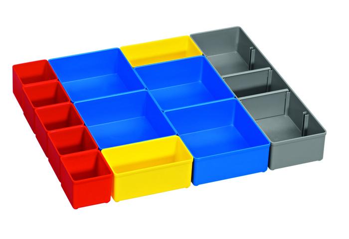 Bosch i-Boxx 53 inset box set 12 pcs 12dílná sada pořadačů pro i-Boxx 53