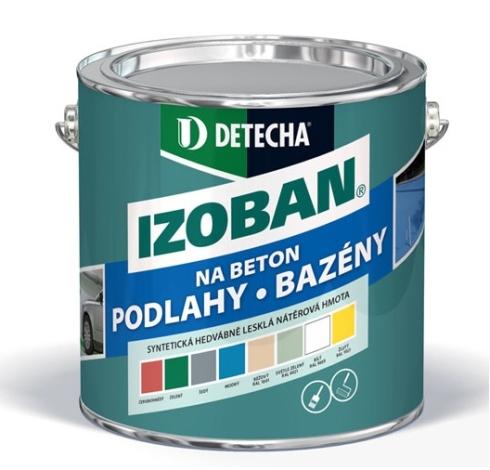 DETECHA IZOBAN 2kg syntetická nátěrová hmota na beton, bazény, nádrže