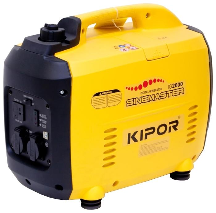 KIPOR IG2600 elektrocentrála 2600 W