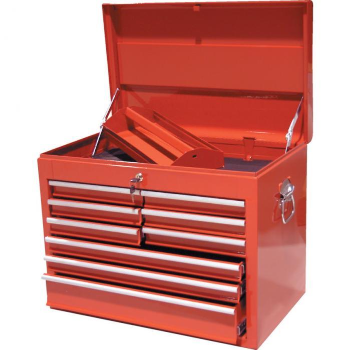 KENNEDY Box na nářadí přenosný s 9 extra hlubokými zásuvkami 660 x 405 x 520 mm