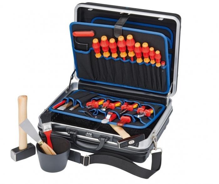 Knipex 002105HLS vybavený kufr na nářadí