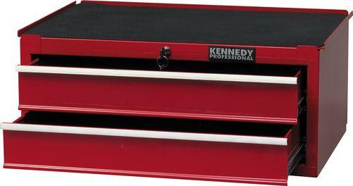 KENNEDY Box na nářadí stohovatelný se 2 zásuvkami 688 x 459 x 280 mm