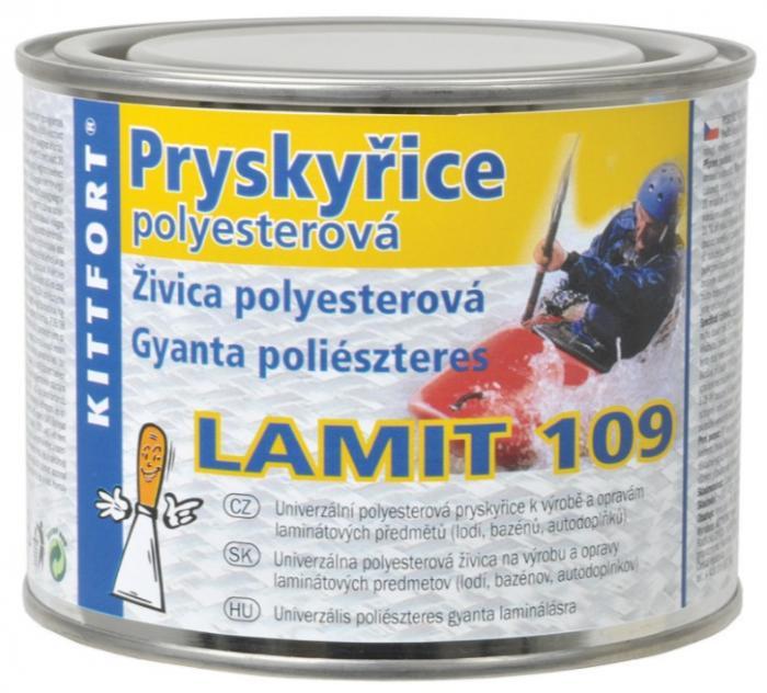 Kittfort Pryskyřice LAMIT 109 univerzální polyesterová pryskyřice k opravám laminátových předmětů