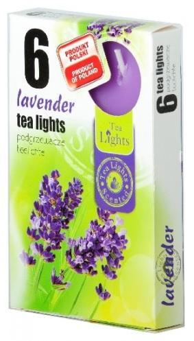 Z-Trade Čajové 6ks Lavender vonné svíčky