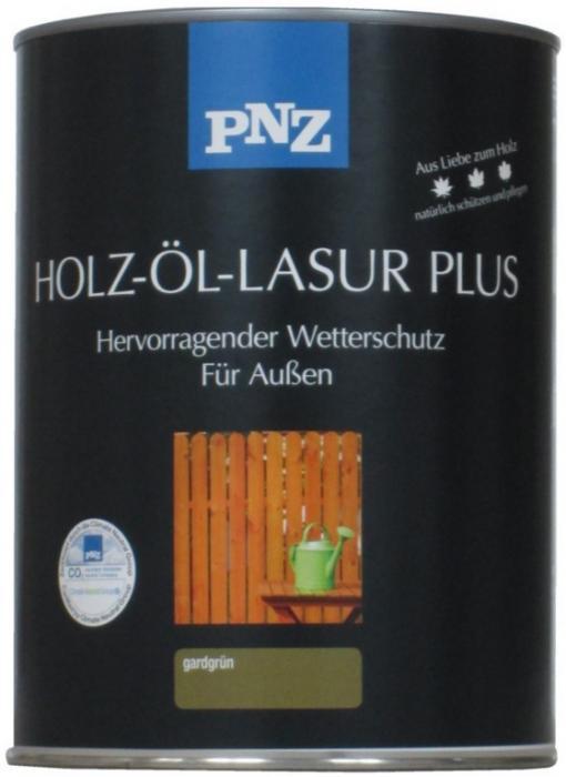 PNZ Olejová lazura Plus 0,75L ( - HOLZ-ÖL LASUR PLUS) Lazurovací tixotropní nátěr pro všechny druhy dřevin