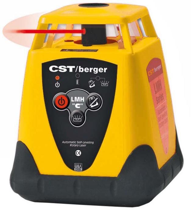 CST/berger LMH-CU rotační horizontální laser + ALELT20 + TLMB SET