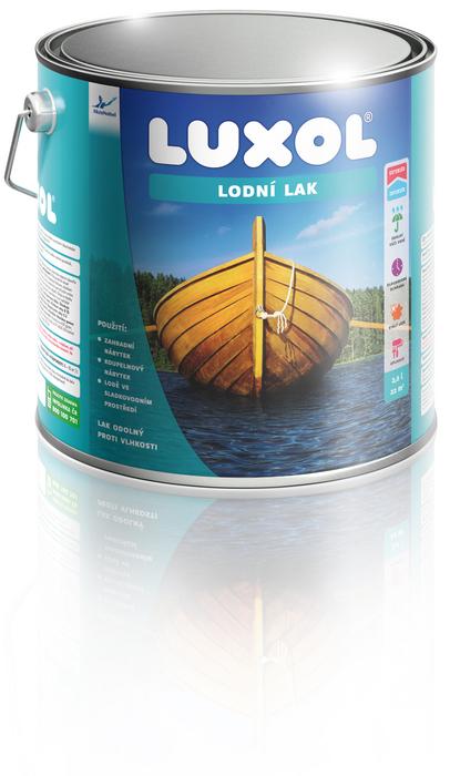 LUXOL ® LODNÍ LAK 2,5L - Lak na lodě , odolný proti vodě a vlhkosti