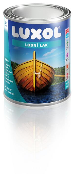 LUXOL ® LODNÍ LAK 0,75L - Lak na lodě , odolný proti vodě a vlhkosti