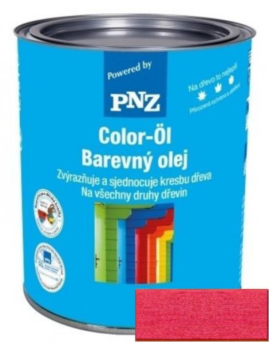 PNZ Barevný olej mohnrot / mák červená 0,25 l