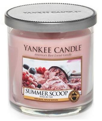 YANKEE CANDLE SUMMER SCOOP DÉCOR MALÝ VONNÁ SVÍČKA