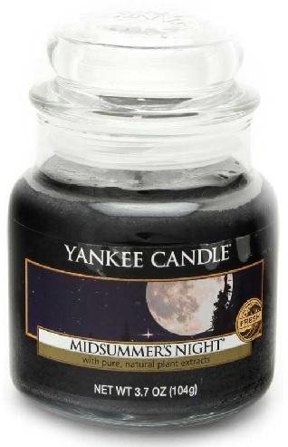 Vonná Svíčka YANKEE CANDLE Midsummers Night CLASSIC MALÝ Letní noc