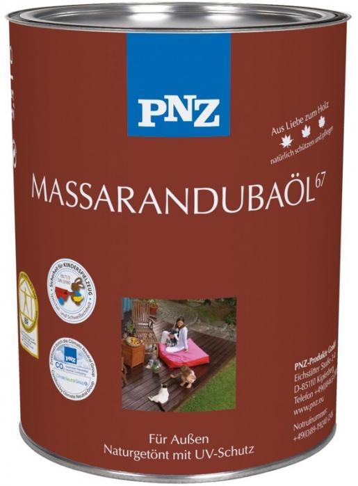 PNZ Olej Massaranduba (-MASSARANDUBA-ÖL67) 2,5L ochrana a ošetření exotických a ušlechtilých dřevin