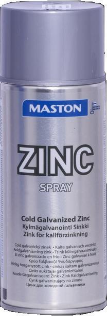 MASTON Zinkový sprej odolný antikorozní prostředek na všechny typy kovů 400ml