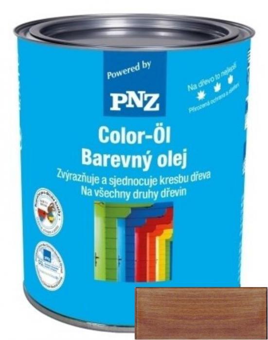 PNZ Barevný olej meranti-teak / meranti teak 0,25 l