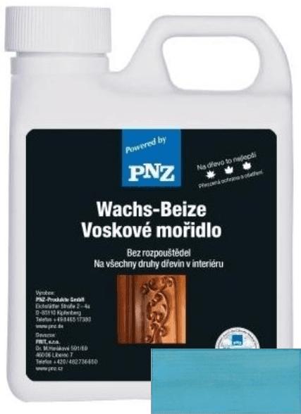 PNZ Voskové mořidlo capriblau / capri modrá 0,5 l
