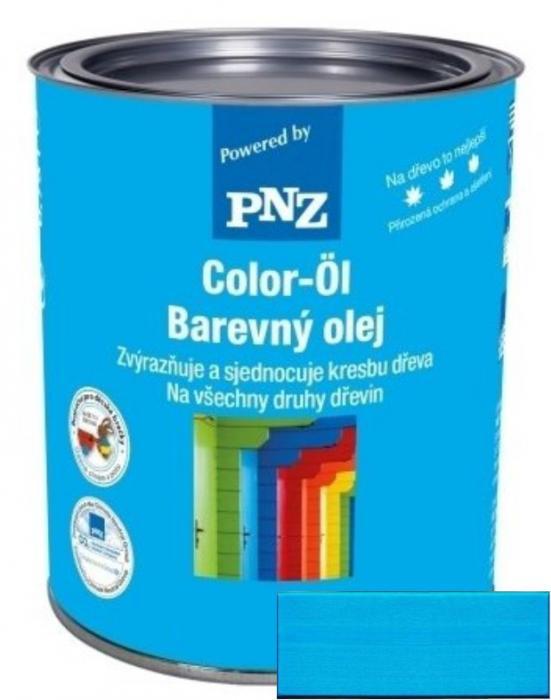 PNZ Barevný olej kristallblau / křišťálově modrá 0,25 l