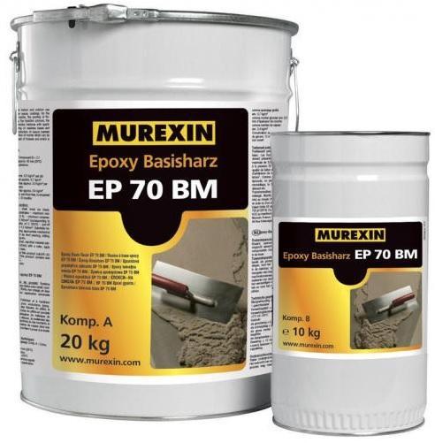 MUREXIN Epoxidová pryskyřice EP 70 BM 4,5Kg A+B univerzální pryskyřice a penetrace