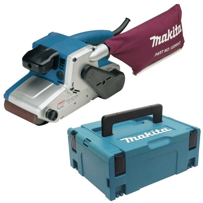 Makita 9404J pásová bruska 100mm/1010W + systainer
