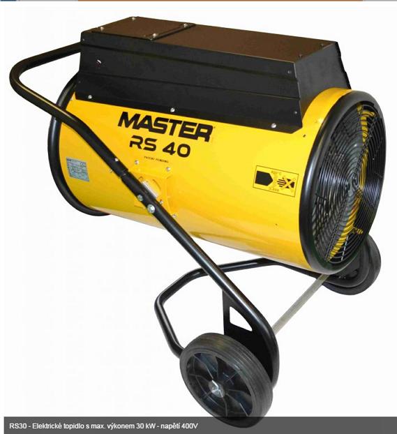 MASTER RS40 elektrické topidlo 40kW
