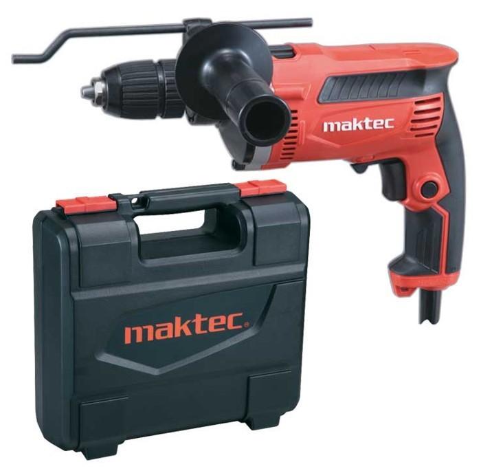 MAKTEC MT815K příklepová vrtačka s kufrem 710W